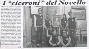 I Ciceroni del Novello