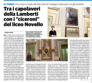 Novelli Ciceroni alla Collezione Lamberti