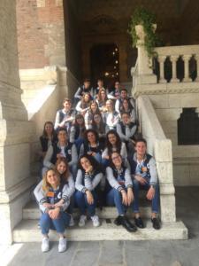 Novellini all'evento inaugurale della stagione di Villa Biancardi